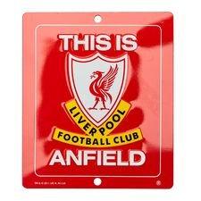 Liverpool Fönsterskylt - Röd