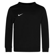 Nike Crewneck Fleece Club 19 - Schwarz/Weiß Kinder