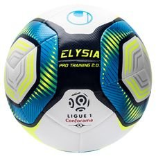 Uhlsport Fotboll Elysia Ligue 1 2019/20 Pro Training 2.0 - Vit/Blå/Gul