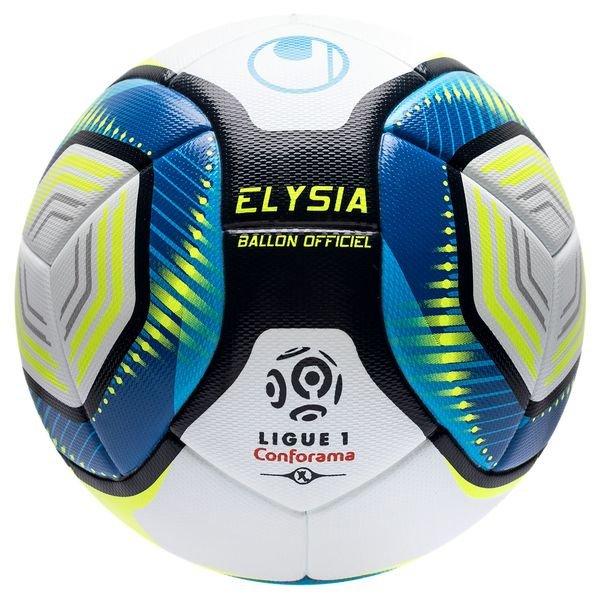 Uhlsport Football Elysia Ligue 1 2019 20 Match Ball White Blue Fluo Yellow Www Unisportstore Com