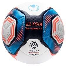 Uhlsport Fotboll Elysia Ligue 1 2019/20 Pro Training 2.0 - Vit/Blå/Orange