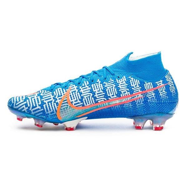 size 40 334f8 15e2b Nike Mercurial Superfly 7 Elite FG CR7 Shuai - Blue Hero/White/Solar Red  LIMITED EDITION