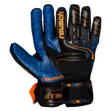 Reusch Målmandshandske G3 Fusion Evolution Guardian Attrakt - Sort/Orange/Navy thumbnail