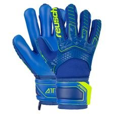 Reusch Torwarthandschuhe FreeGel S1 Finger Support Attrakt - Navy/Gelb Kinder