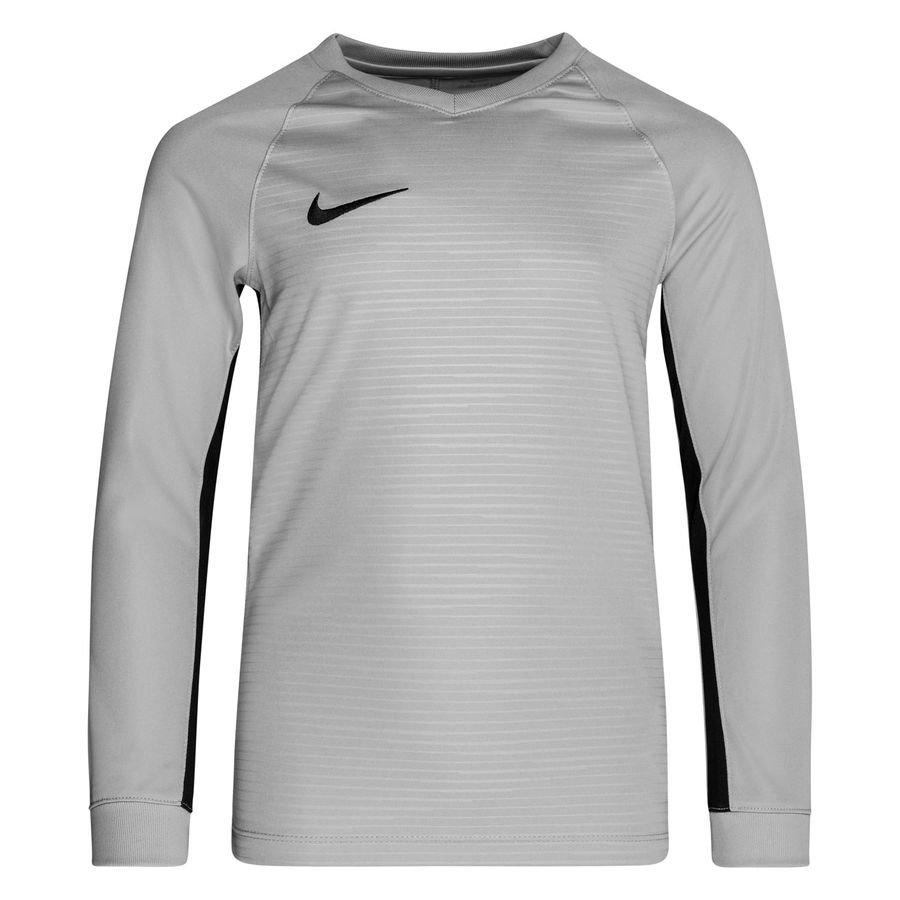 Nike Spilletrøje Tiempo Premier Dry – Grå/Sort Børn