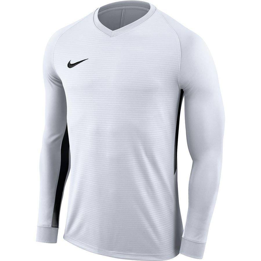 Nike Spilletrøje Tiempo Premier Dry – Hvid/Sort Børn