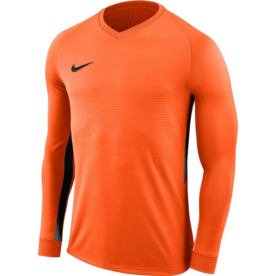 Nike Spilletrøje Tiempo Premier Dry - Orange/Sort Børn thumbnail