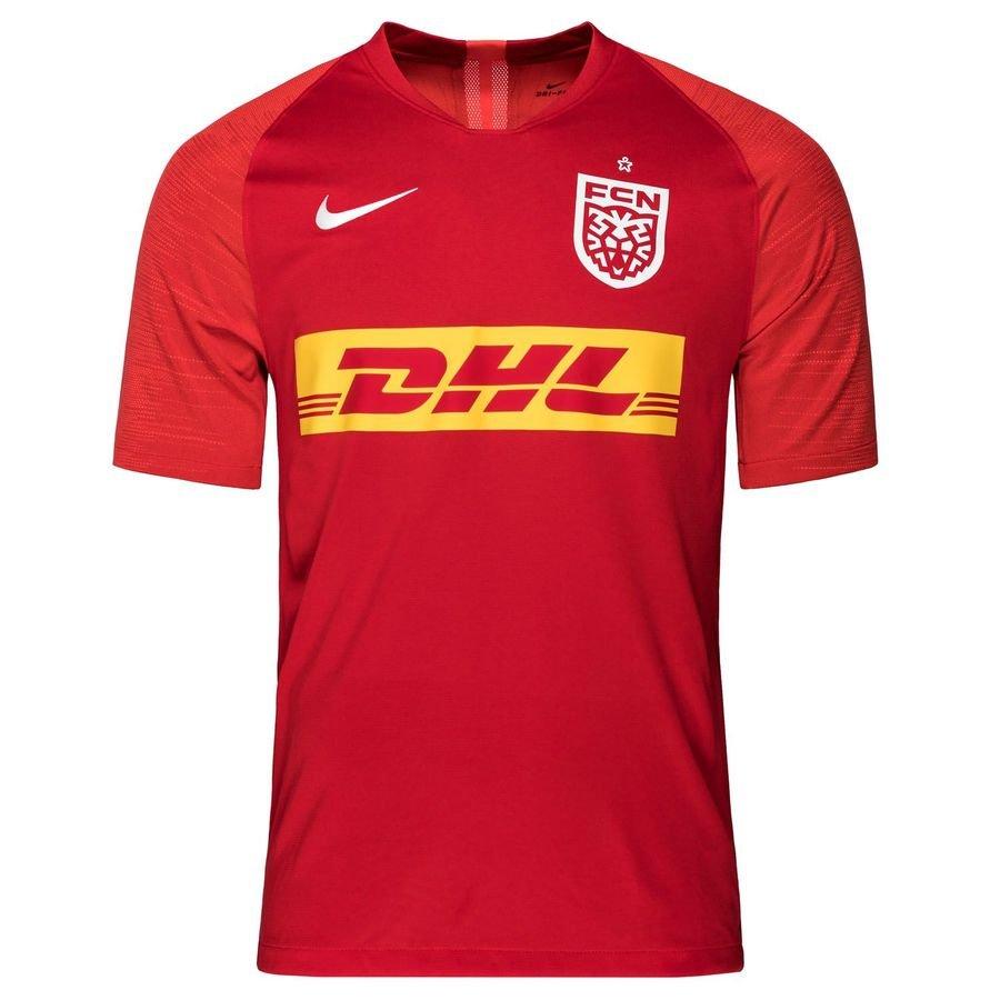 Nike Trænings T-Shirt VaporKnit II - Rød/Hvid thumbnail
