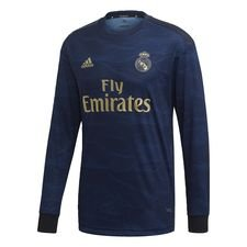 Real Madrid Away Authentic Jersey Blå