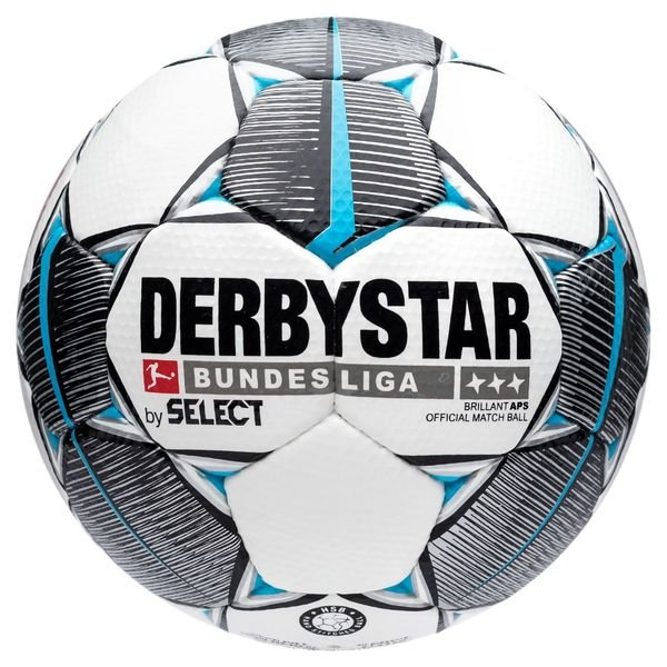 Derbystar Fussball Brillant Aps Bundesliga 2019 20 Weiss Schwarz Navy