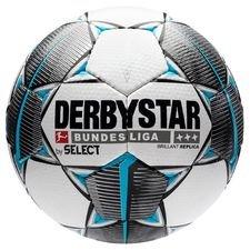 Derbystar Fußball Brillant APS Replica Bundesliga 2019/20 - Weiß/Schwarz/Navy