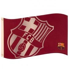 Barcelona Flagga Logo - Röd/Vit