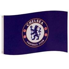 Chelsea Flagga Logo - Blå