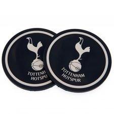 Tottenham Glasunderlägg 2-Pack - Svart