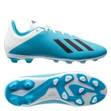 adidas X 19.4 FG/AG Hard Wired - Turkos/Silver Barn