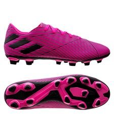 adidas Nemeziz 19.4 FG/AG Hard Wired - Pink/Sort