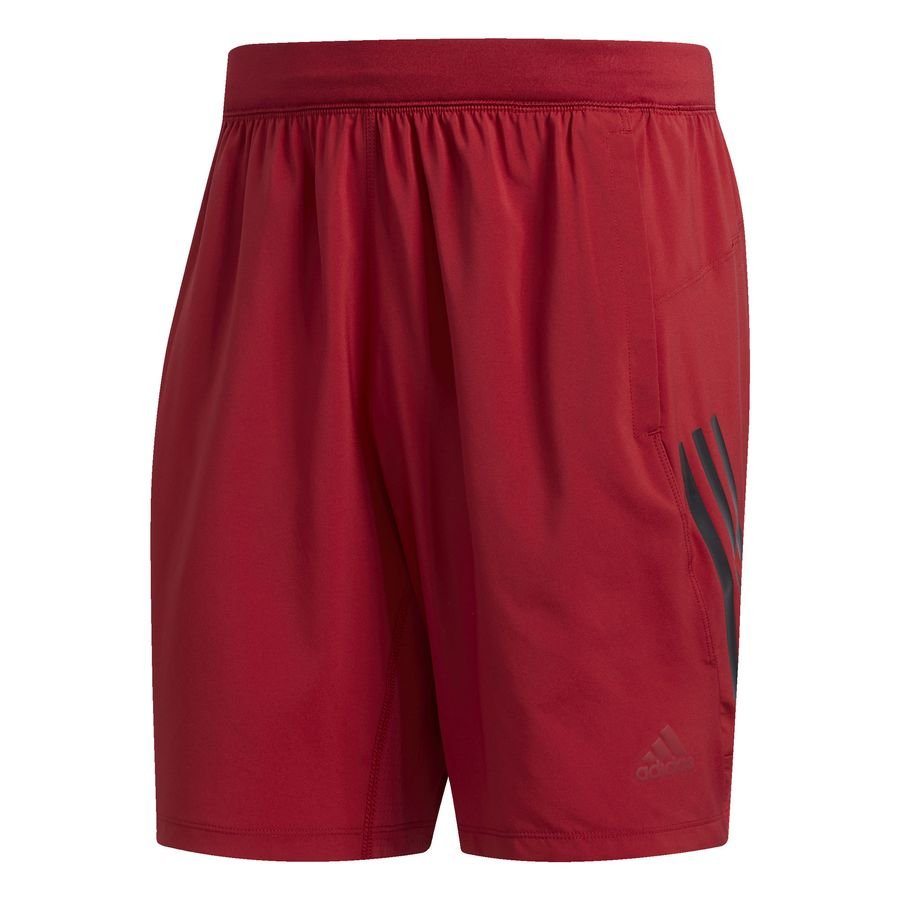 4KRFT Tech Woven 3-Stripes shorts Burgundy thumbnail