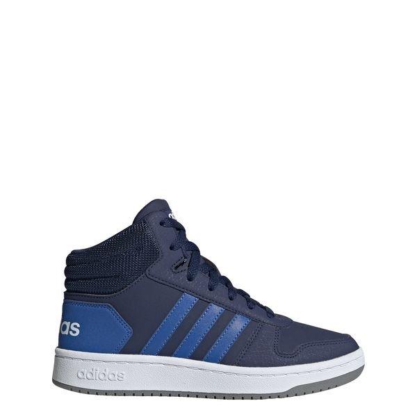 Chaussure Hoops 2.0 Mid Bleu
