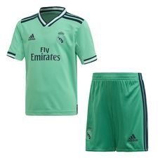 Real Madrid Third Mini Kit Grön