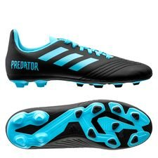 adidas Predator 19.4 FG/AG Hard Wired - Turkos/Svart Barn