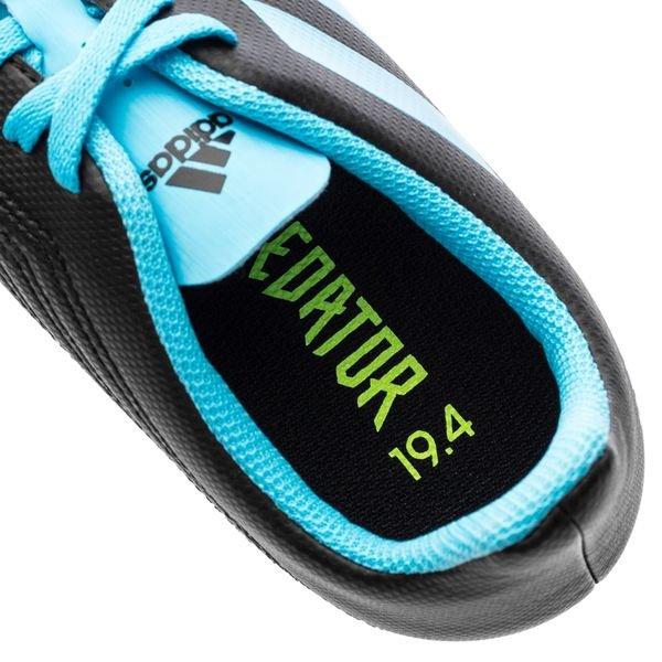 adidas Predator 19.4 FGAG Hard Wired TürkisSchwarz Kinder