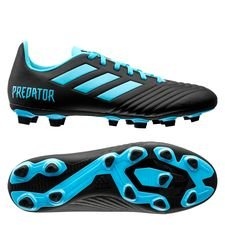 adidas Predator 19.4 FG/AG Hard Wired - Turkis/Sort