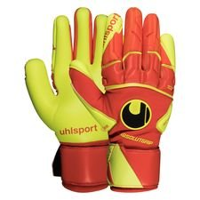 Uhlsport Torwarthandschuhe Dynamic Impulse Absolutgrip Reflex - Orange/Gelb