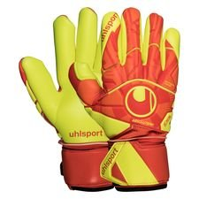 Uhlsport Torwarthandschuhe Dynamic Impulse Absolutgrip Finger Surround - Orange/Gelb