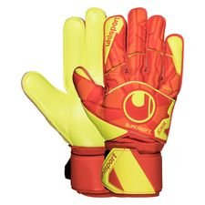 Uhlsport Torwarthandschuhe Dynamic Impulse Supersoft - Orange/Gelb