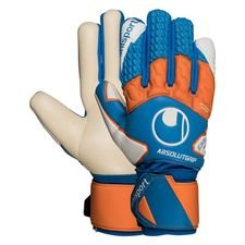 Uhlsport Torwarthandschuhe Absolutgrip HN Pro - Türkis/Orange/Weiß Kinder