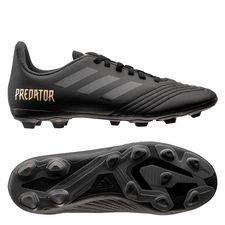 adidas Predator 19.4 FG/AG Dark Script - Sort/Guld Børn