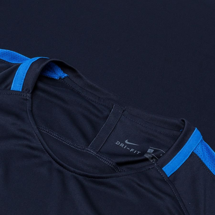 Nike T shirt d'Entraînement Dry Academy 18 Bleu MarineBlanc Femme