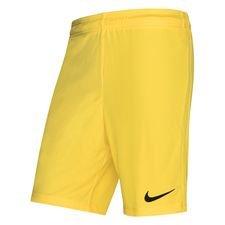 Nike Shorts League Knit - Gelb/Schwarz