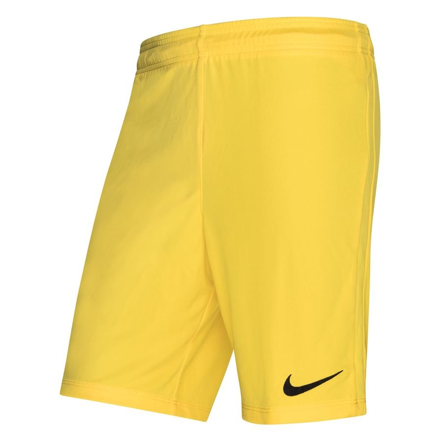 Nike Shorts League Knit - Gul/Sort thumbnail