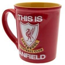 Liverpool Jumbo Mugg - Röd/Vit