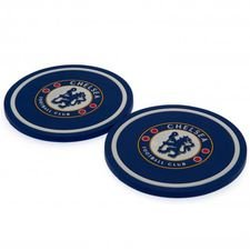 Chelsea Glasunderlägg 2-Pack - Blå
