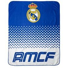 Real Madrid Fleece Filt - Blå