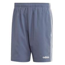 Essentials 3-Stripes Chelsea Shorts 7 Inch Blå