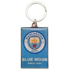 Manchester City Deluxe Nyckelring - Blå