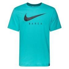 Barcelona T-Shirt Dry Training Ground - Turkos Barn
