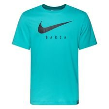 Barcelona T-Shirt Dry Training Ground - Turkos