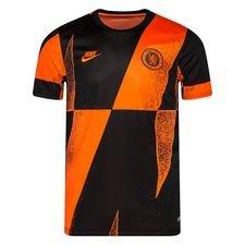 Chelsea Tränings T-Shirt Pre Match Europa - Orange/Svart