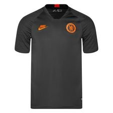 Chelsea Tränings T-Shirt Breathe Strike - Grå/Svart/Orange