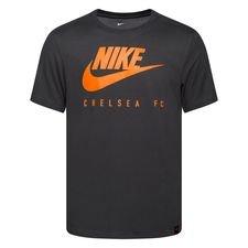 Chelsea T-Shirt Dry Training Ground - Grå/Orange