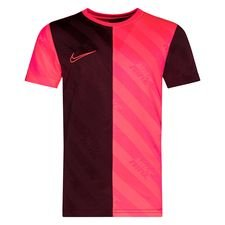 Nike Training T-Shirt Academy Dry AOP - Bordeaux/Pink Kinder