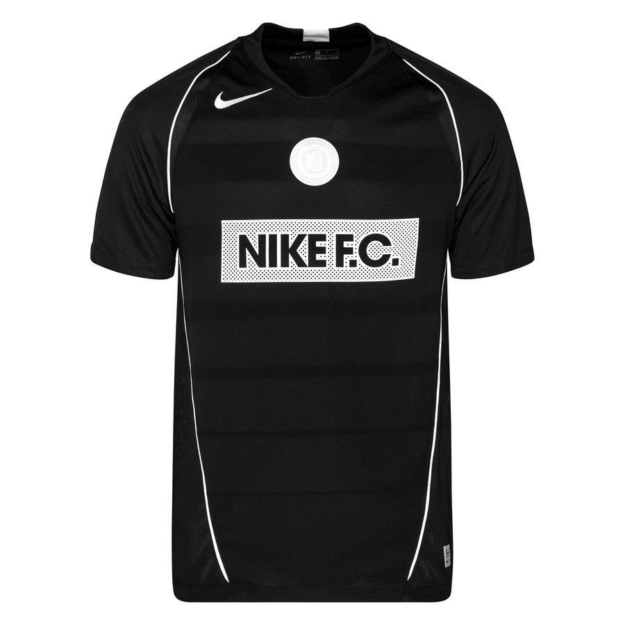 Nike F.C. Spillertrøje – Sort/Hvid