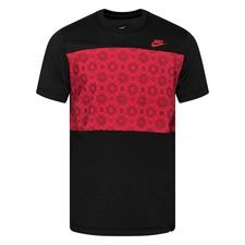 Roma T-Shirt Travel - Svart/Röd