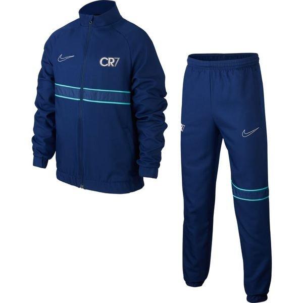 Nike Survêtement Dry Academy CR7 Dream Speed BleuVertArgenté Enfant