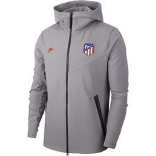 Atletico Madrid Luvtröja NSW Tech Pack - Grå/Röd