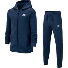 Nike Trainingsanzug Core NSW - Navy/Weiß Kinder